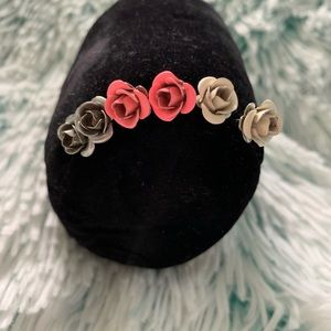 Jewelry - ✨SET OF 3 ROSE STUD EARRINGS✨